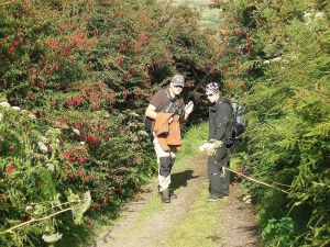 Aufstieg zum Lough Mount Eagle auf Dingle