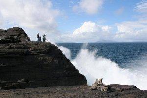 Angeln am Culoo Rock auf Valentia Island