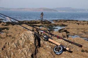 gerät zum wolfsbarsch angeln